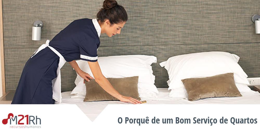 importância do serviço de quartos