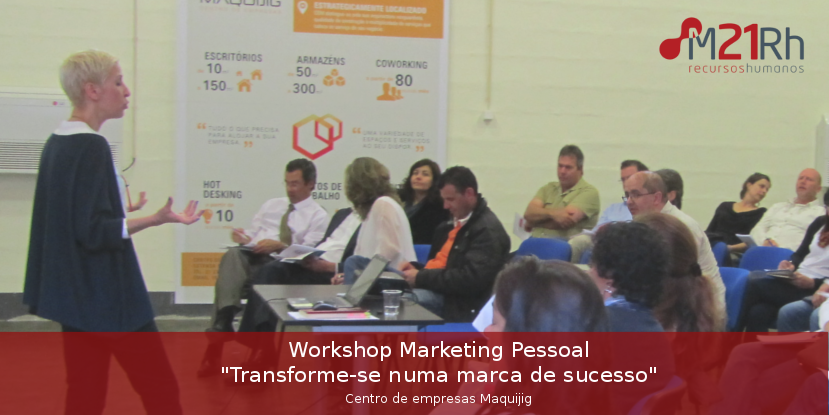 formação, marketing pessoal, workshop